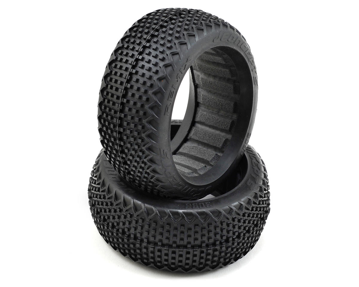 JConcepts Remix 1/8th Buggy Tires (2) (Green)