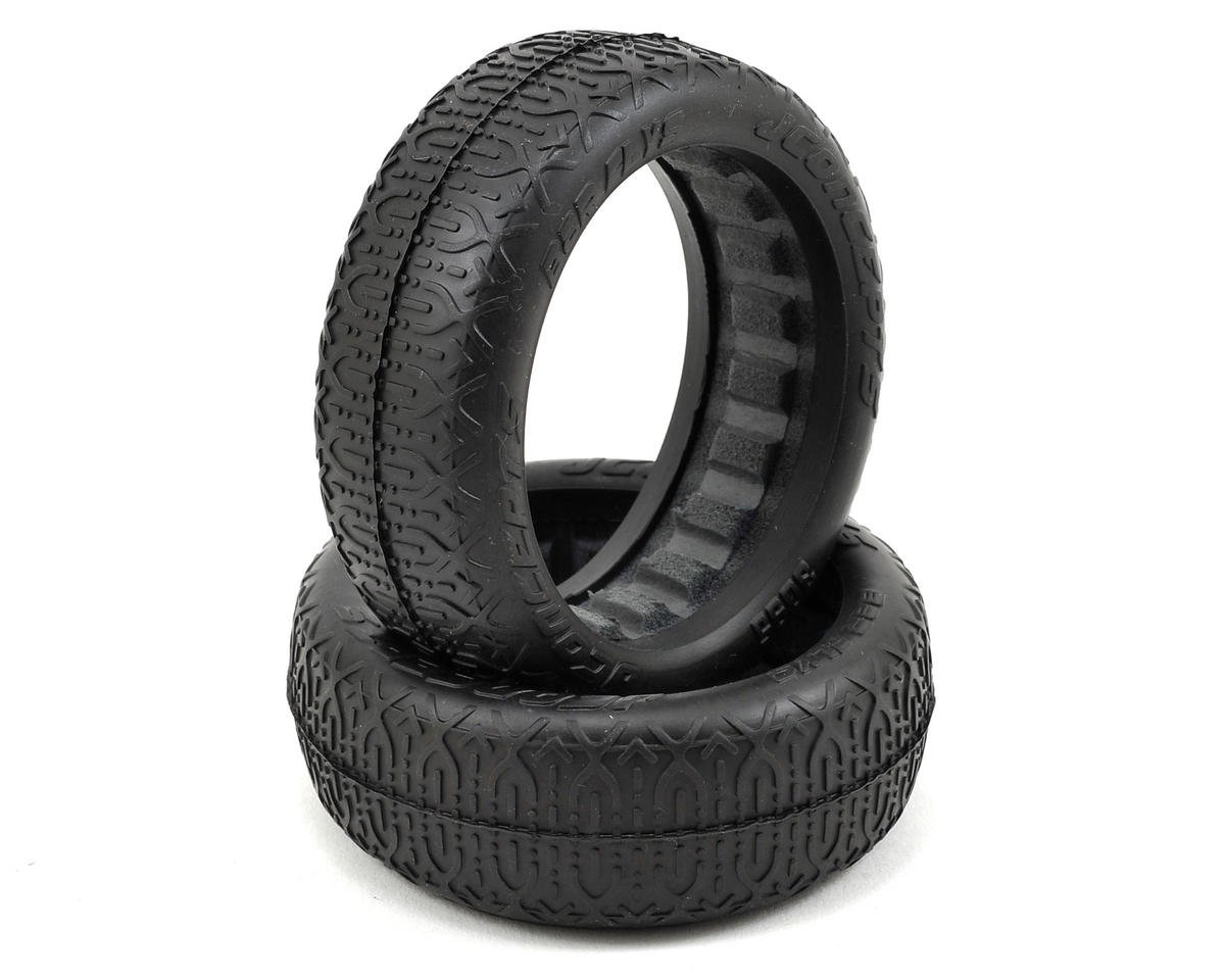 JConcepts Bar Flys 60mm 2WD Front Buggy Tires (2) (Black)