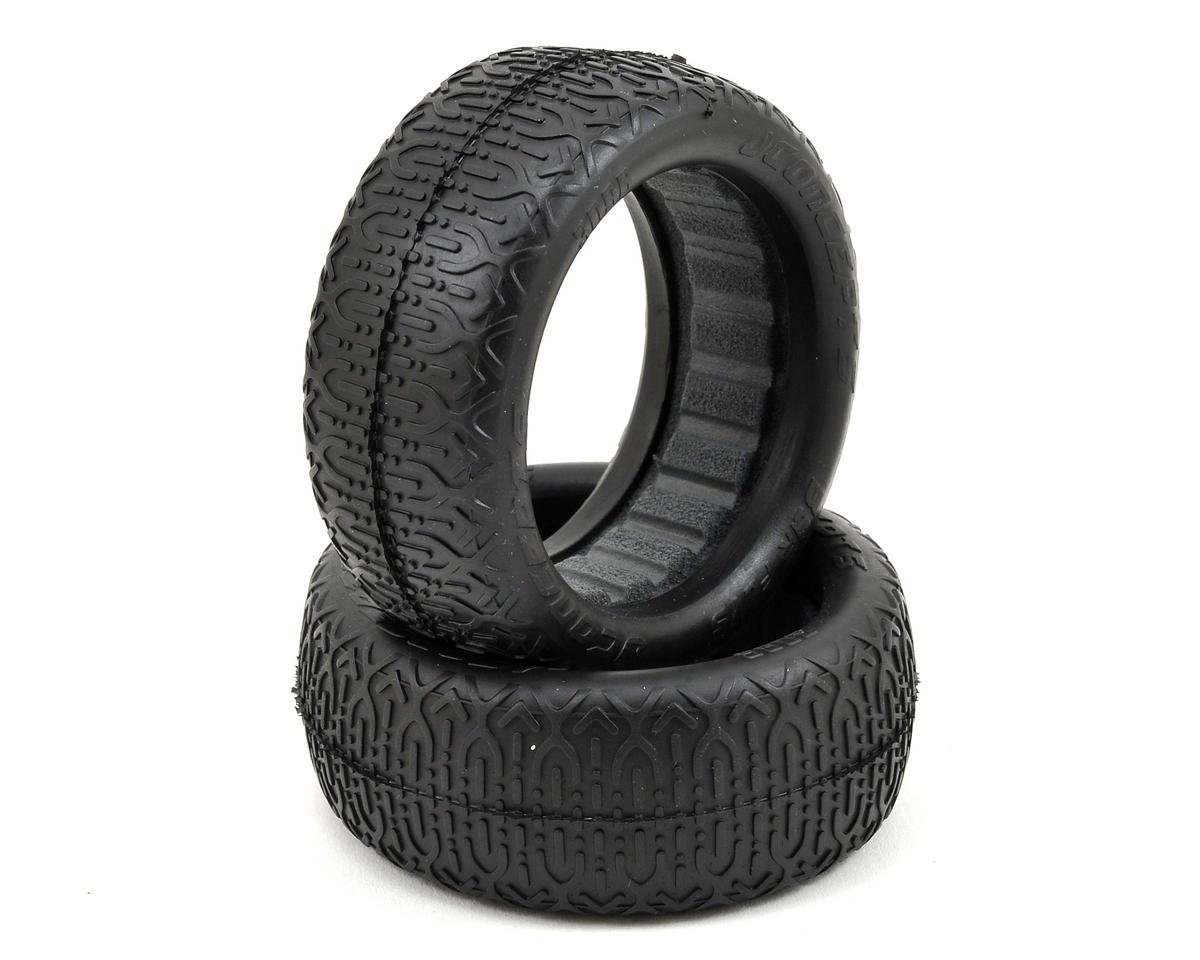 JConcepts Bar Flys 60mm 4WD Front Buggy Tires (2) (Green)