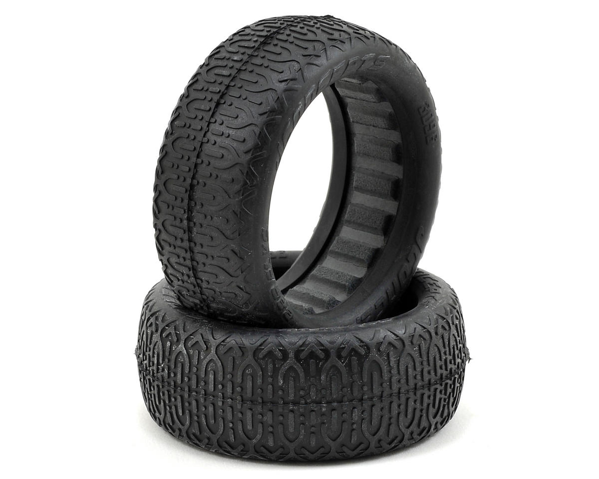 JConcepts Bar Flys 60mm 4WD Front Buggy Tires (2) (Gold)