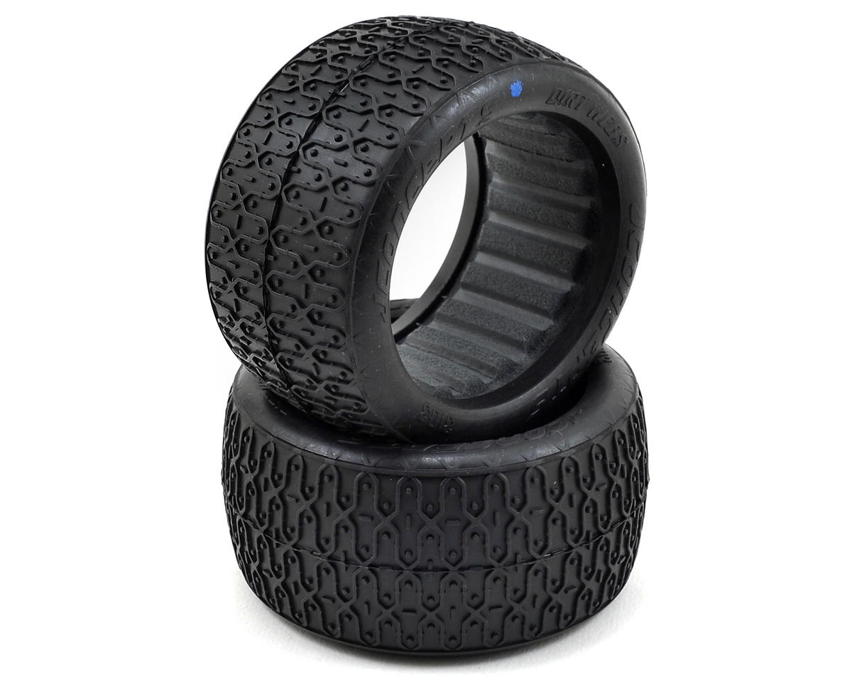 JConcepts Dirt Webs 60mm Rear Buggy Tires (2) (Blue)