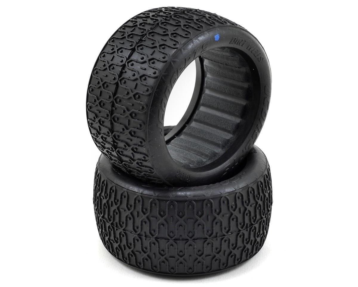 JConcepts Dirt Webs 60mm Rear Buggy Tires (2) (Blue)