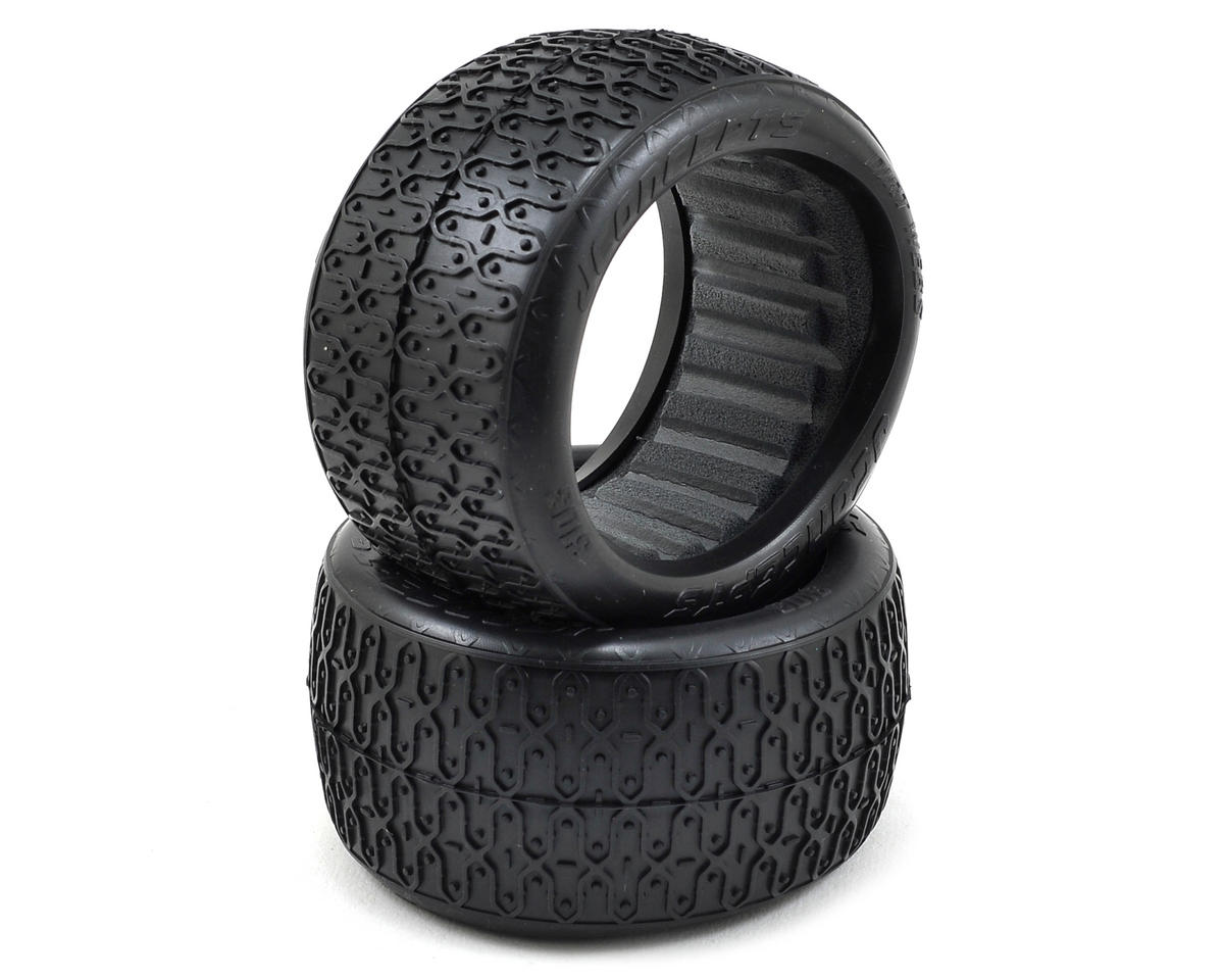 JConcepts Dirt Webs 60mm Rear Buggy Tires (2) (Green)