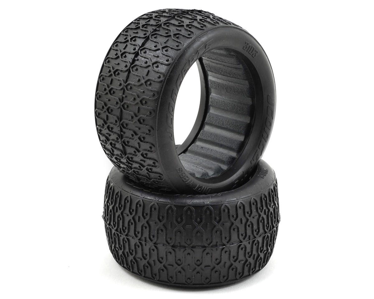 JConcepts Dirt Webs 60mm Rear Buggy Tires (2) (Red)