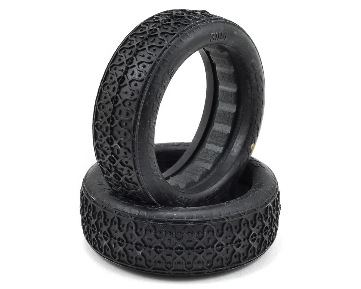 Dirt Webs 60mm 2WD Front Buggy Tires (2) (Gold) by JConcepts