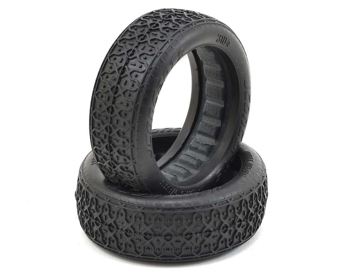 JConcepts Dirt Webs 60mm 2WD Front Buggy Tires (2) (Black)
