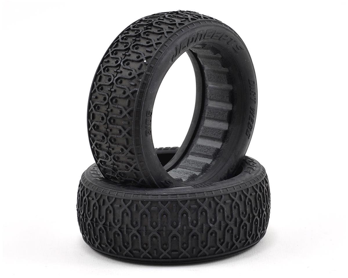 JConcepts Dirt Webs 60mm 4WD Front Buggy Tires (2) (Black)