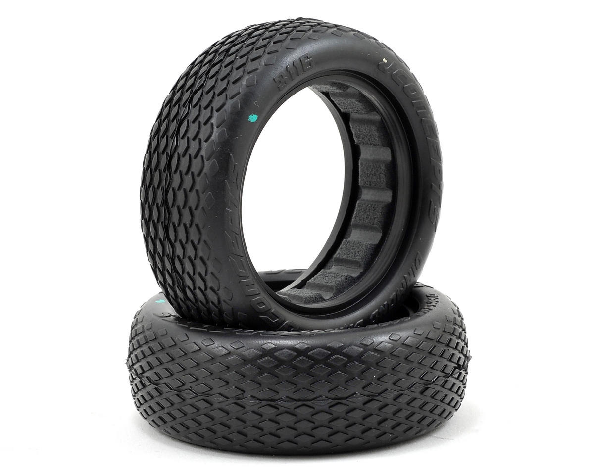 "Diamond Bars 2.2"" 2WD Front Buggy Tires (2) by JConcepts"