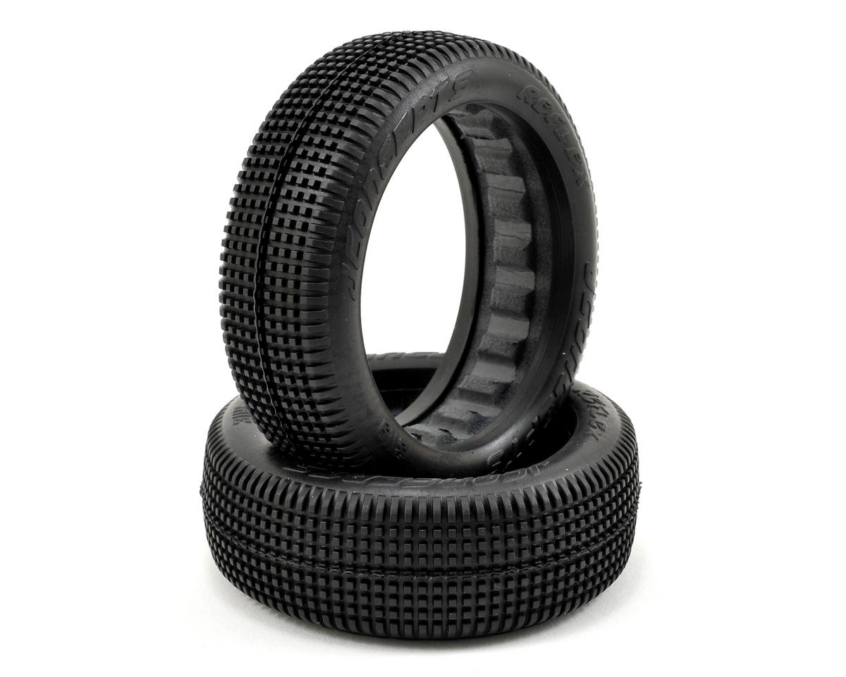 JConcepts Reflex 60mm 2WD Front Buggy Tires (2) (Black)