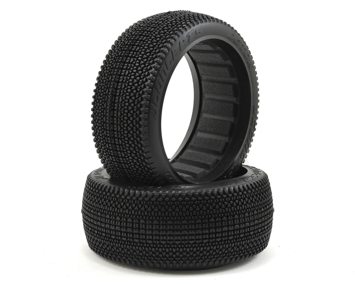 JConcepts Detox 1/8th Buggy Tires (2) (Green)