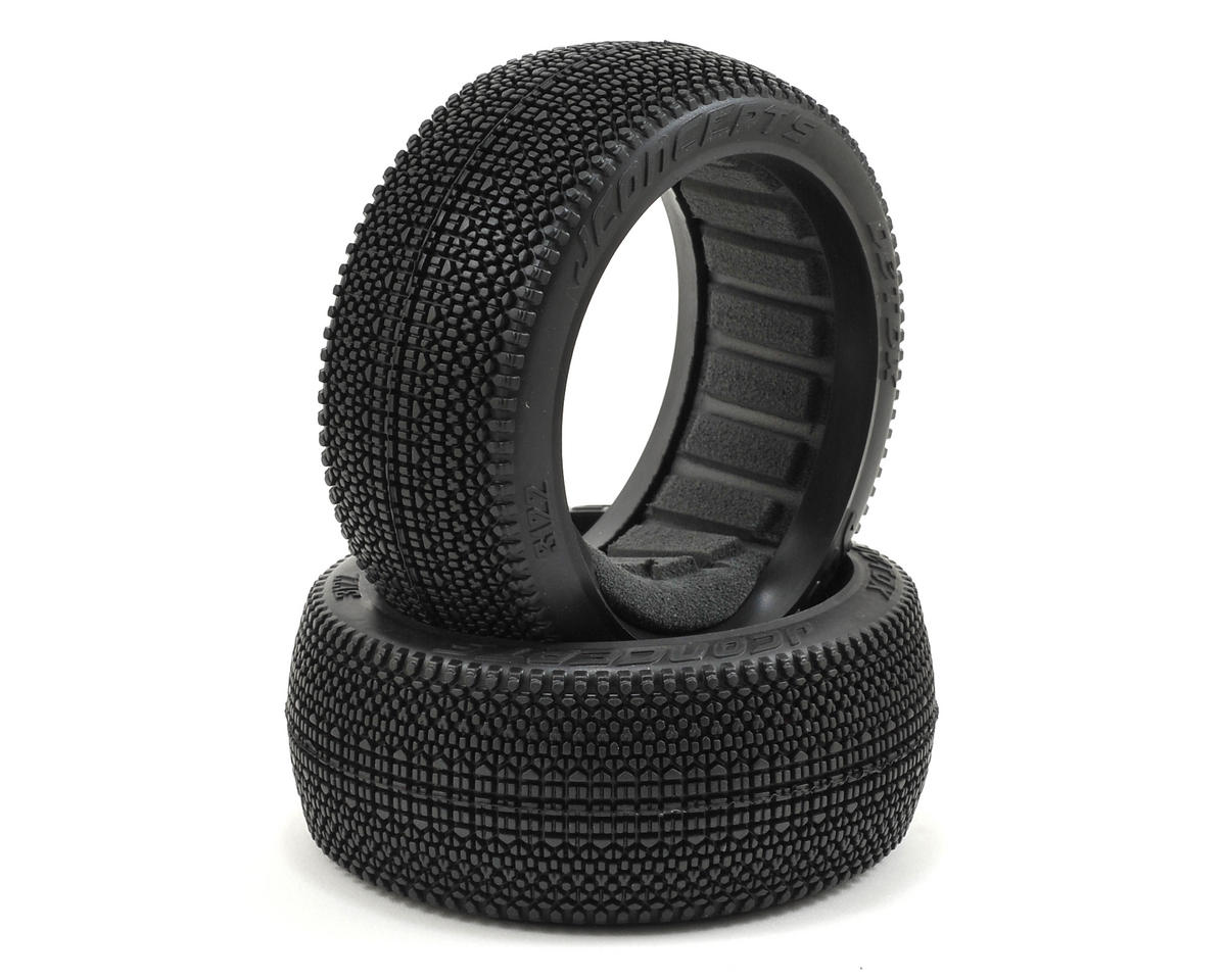 JConcepts Detox 1/8th Buggy Tires (2) (Red)