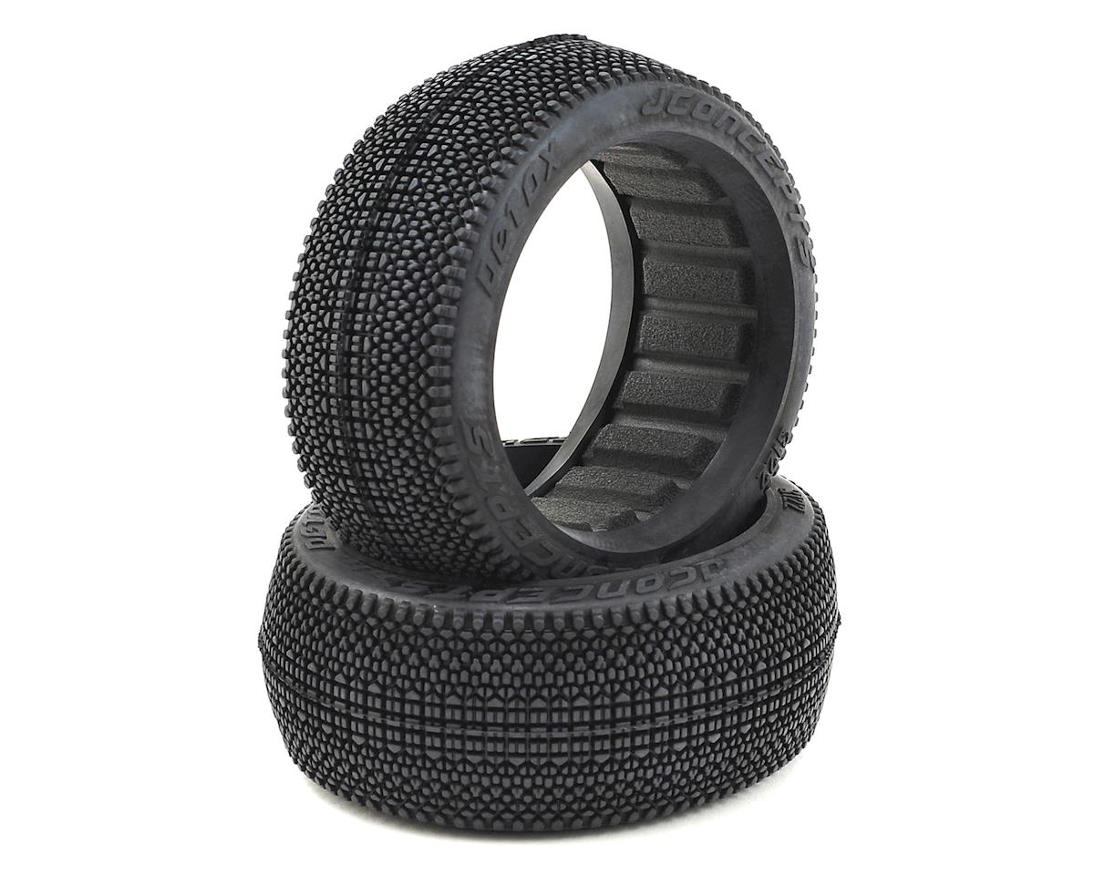 JConcepts Detox 1/8 Buggy Tires (2) (Red2 - Long Wear)
