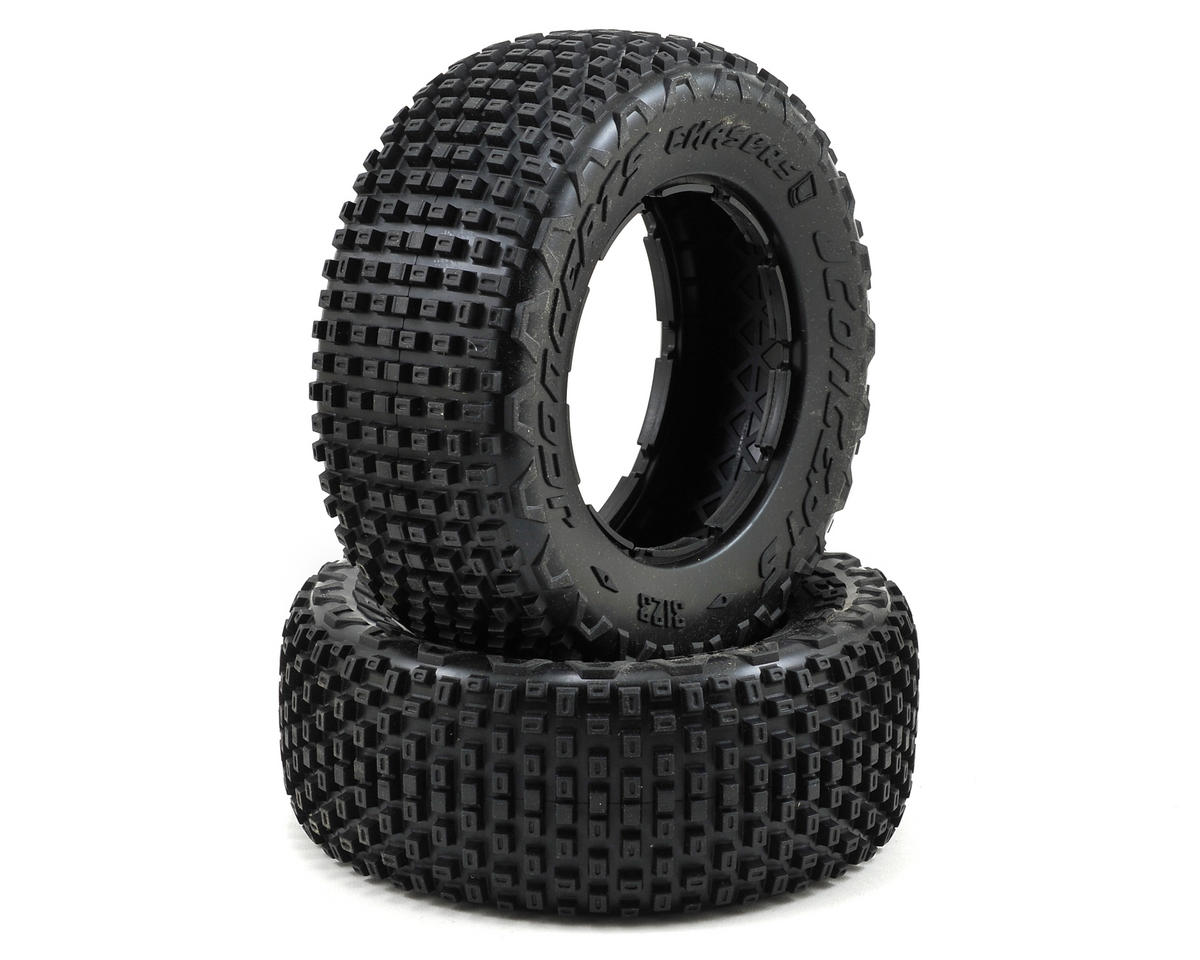 JConcepts Chasers 1/5 Scale Off-Road Truck Tires (2) (No Foam) (Losi 5IVE-T)