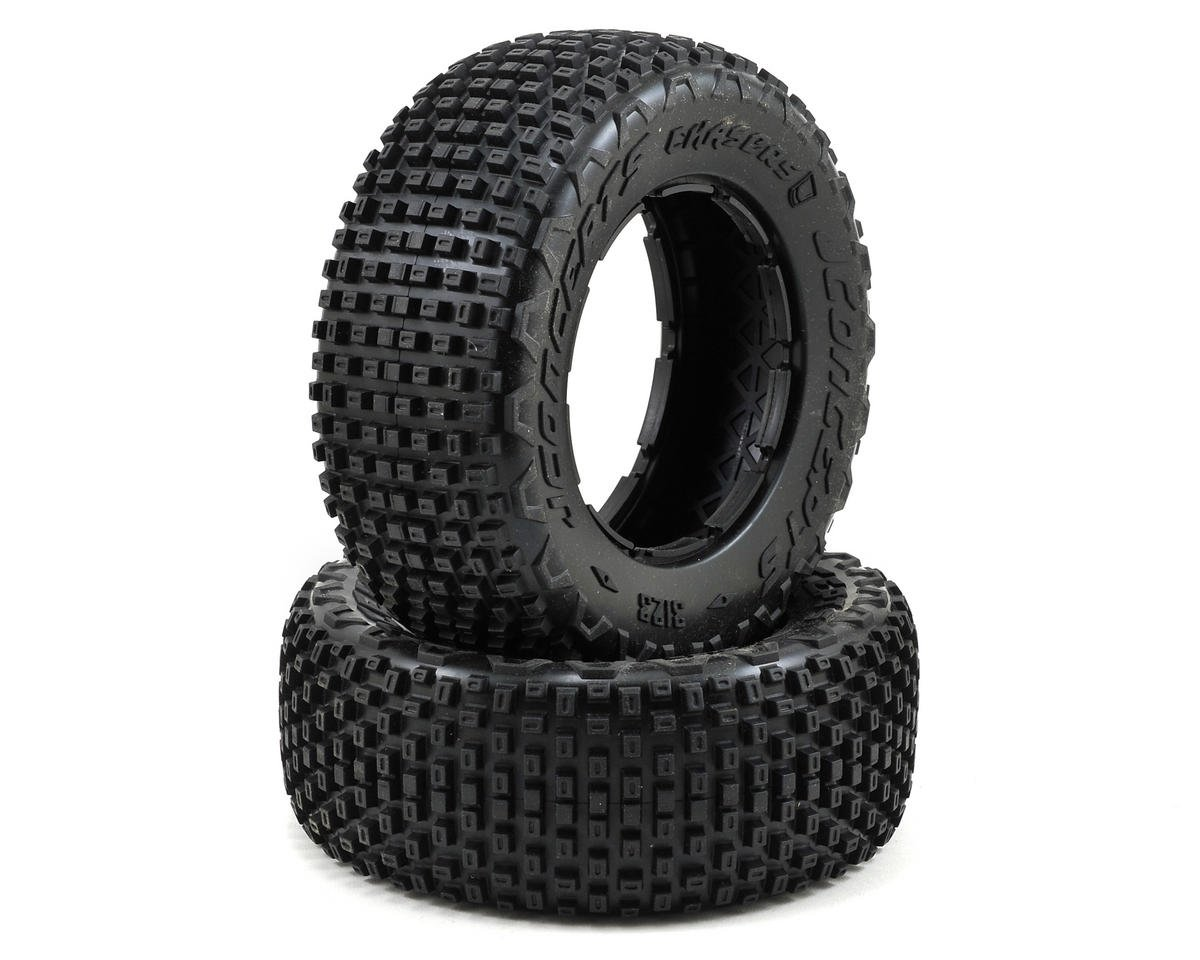 JConcepts Chasers 1/5 Scale Off-Road Truck Tires (2) (No Foam) (Yellow)