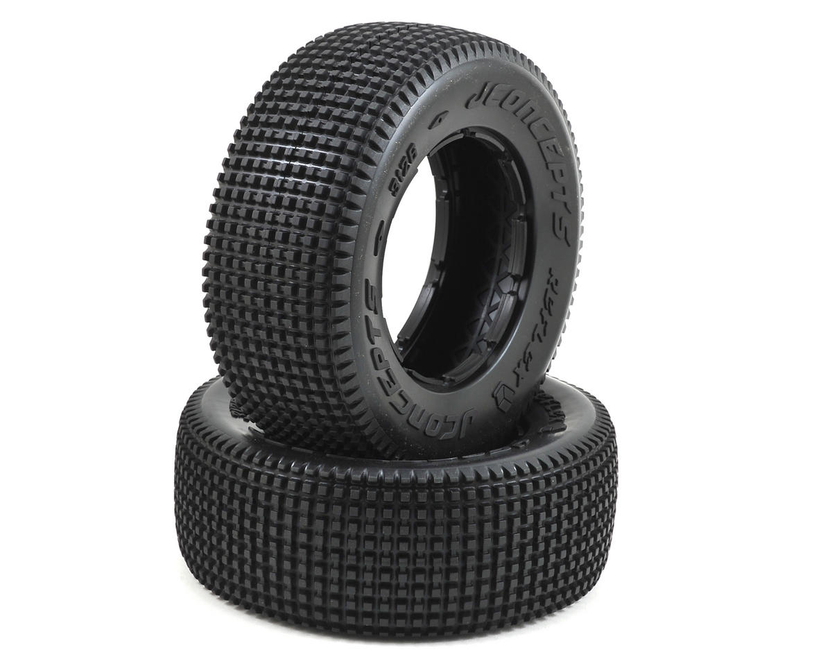 JConcepts Reflex 1/5 Scale Off-Road Truck Tires (2) (No Foam) (Yellow)