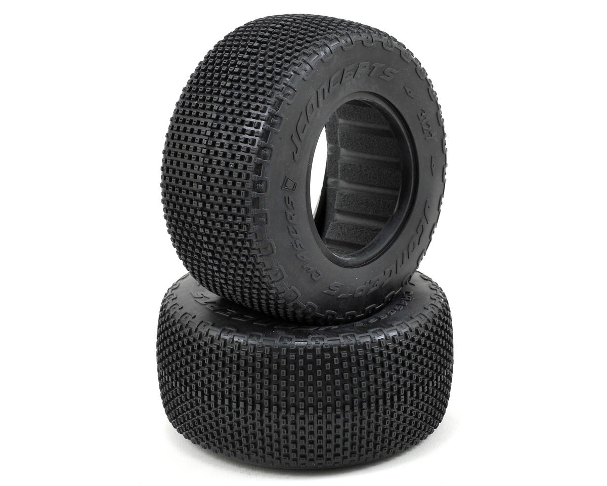JConcepts LiL Chasers Short Course Tires (2) (Green)