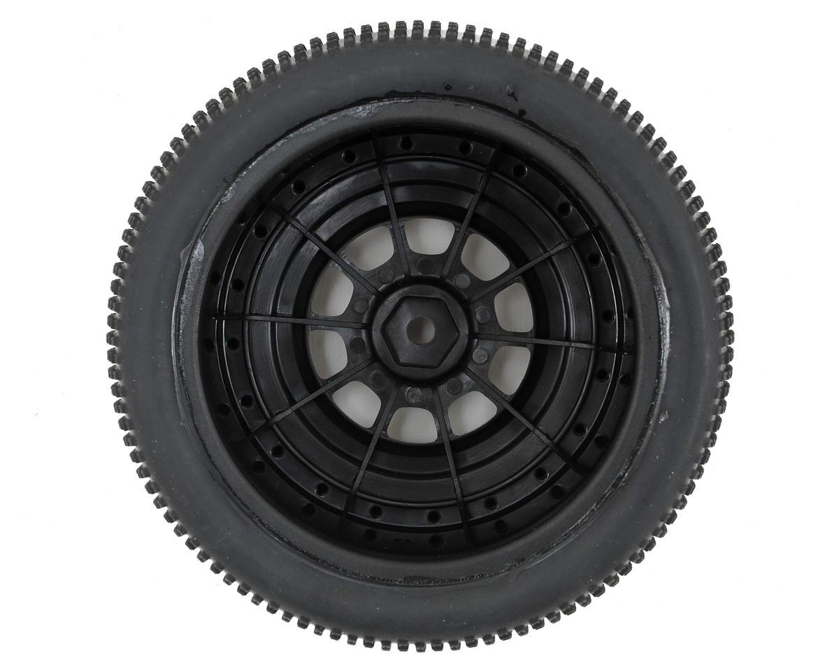 JConcepts LiL Chasers Pre-Mounted SC Tires w/Hazard Wheel (2) (TEN-SCTE) (Green)