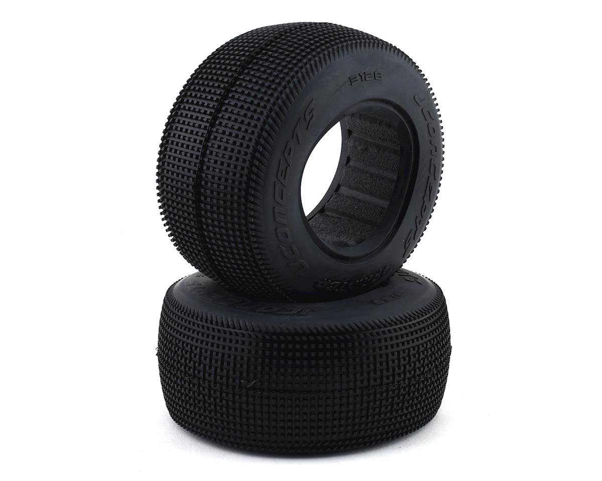 JConcepts Sprinter Short Course Dirt Oval Tires (2) (Green)