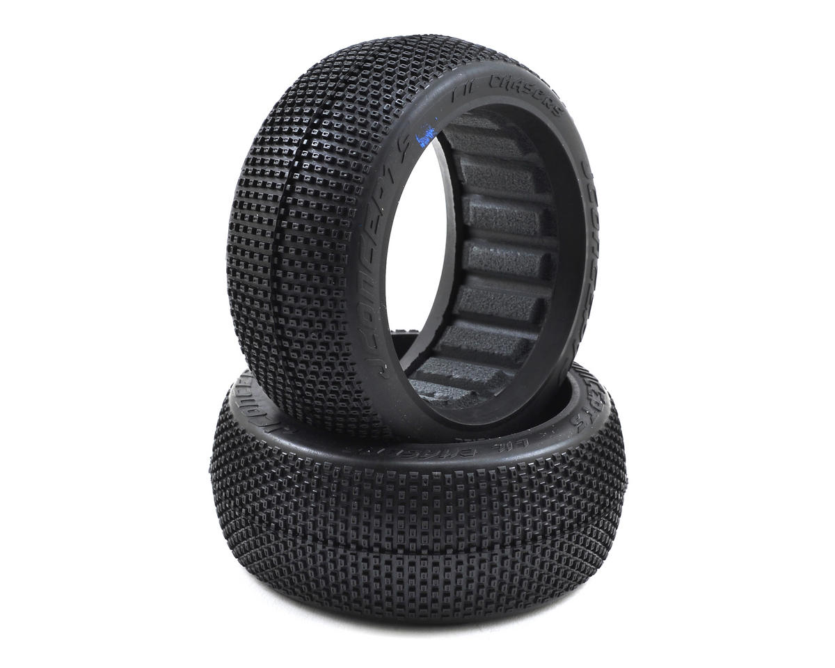 JConcepts LiL Chasers 1/8th Buggy Tires (2) (Blue)