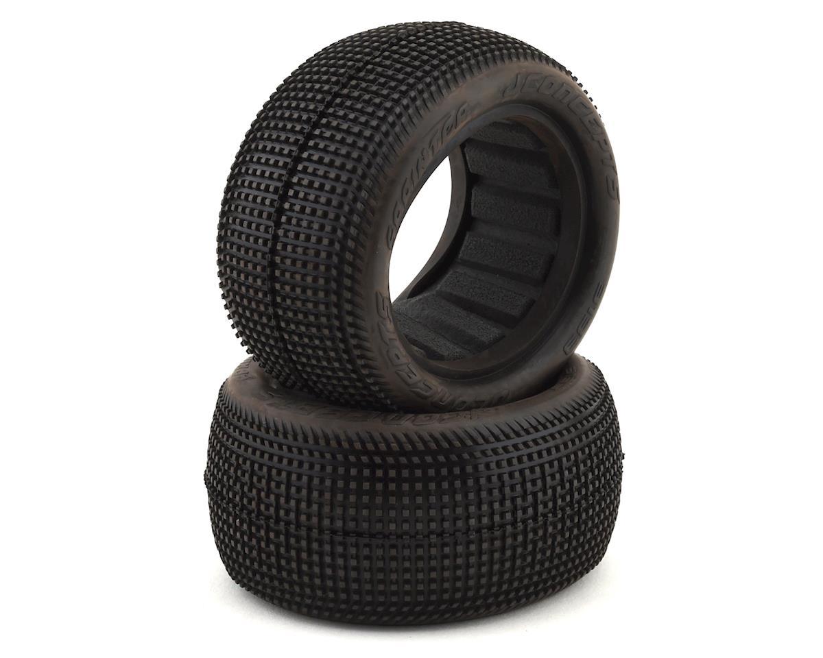 "JConcepts Sprinter 2.2"" Rear Buggy Dirt Oval Tires (2) (Green)"