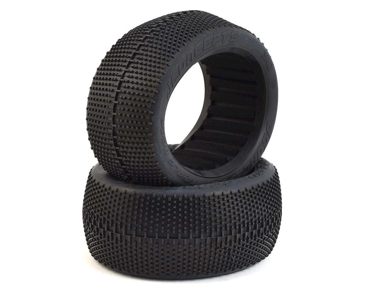 "JConcepts Triple Dees 4.0"" 1/8th Truggy Tires (2)"