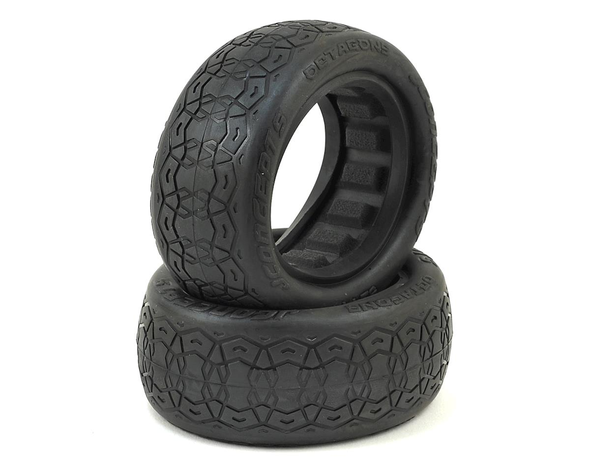 "JConcepts Octagons 2.2"" 4WD 1/10 Front Buggy Tires (2) (Black)"