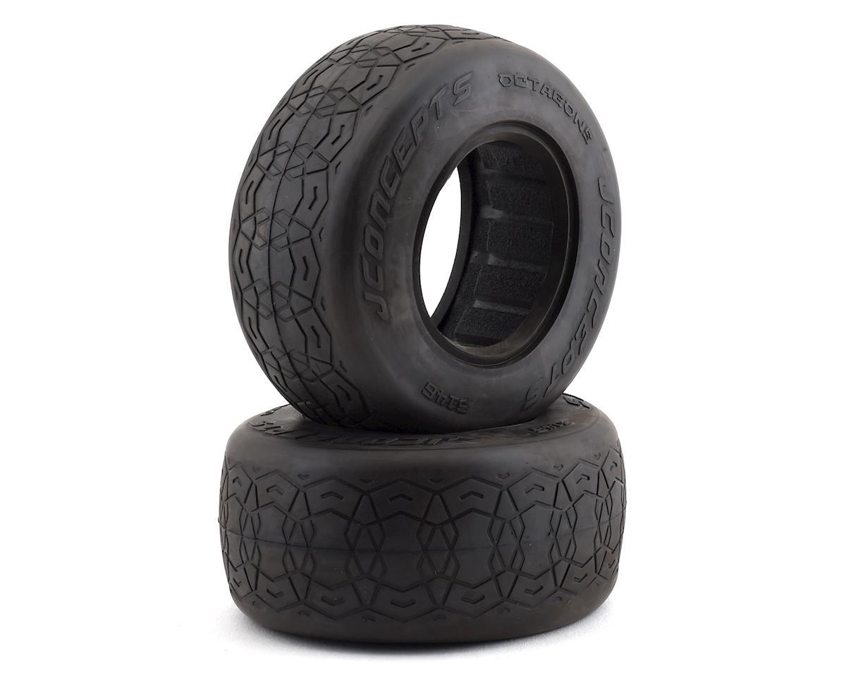 JConcepts Octagons Short Course Tires (2) (Silver)