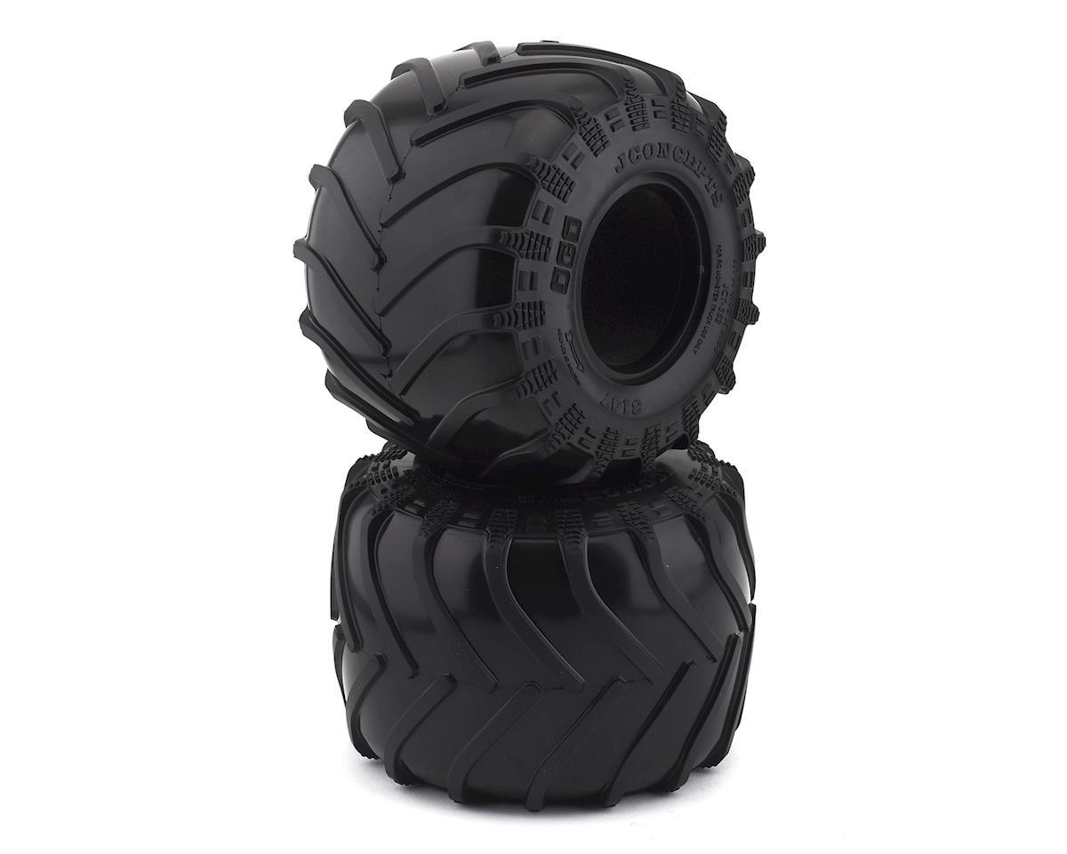"""JConcepts JCT 2.6"""" Monster Truck Tires (2) (Gold)"""