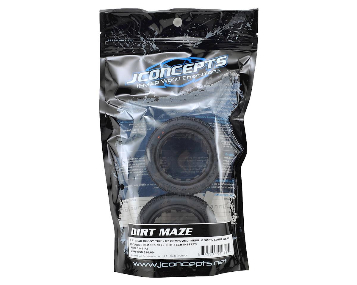 "JConcepts Dirt Maze 2.2"" Rear Buggy Tire (2) (R2)"