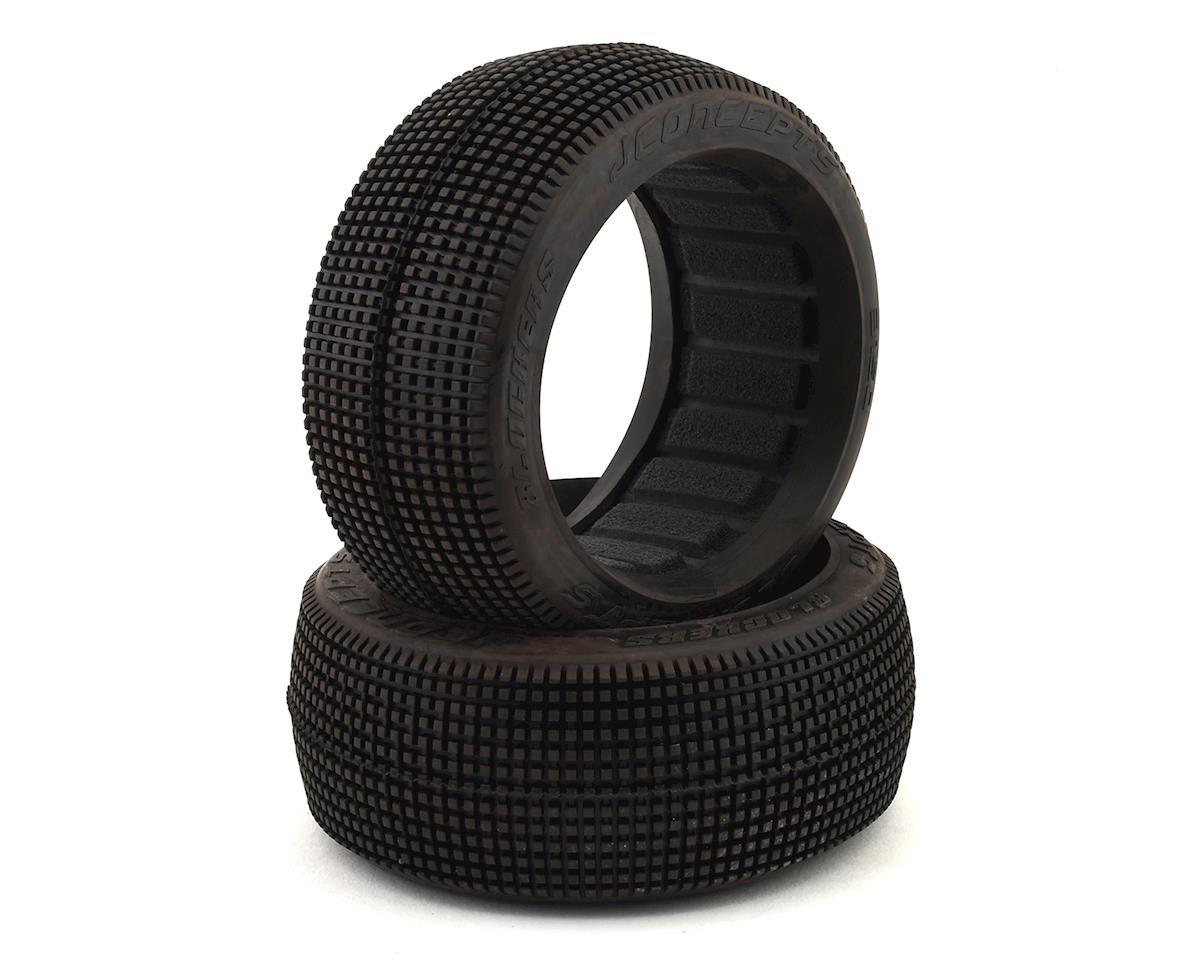 JConcepts Blockers 8th Scale Buggy Long Wear Tires Aqua 3150-03