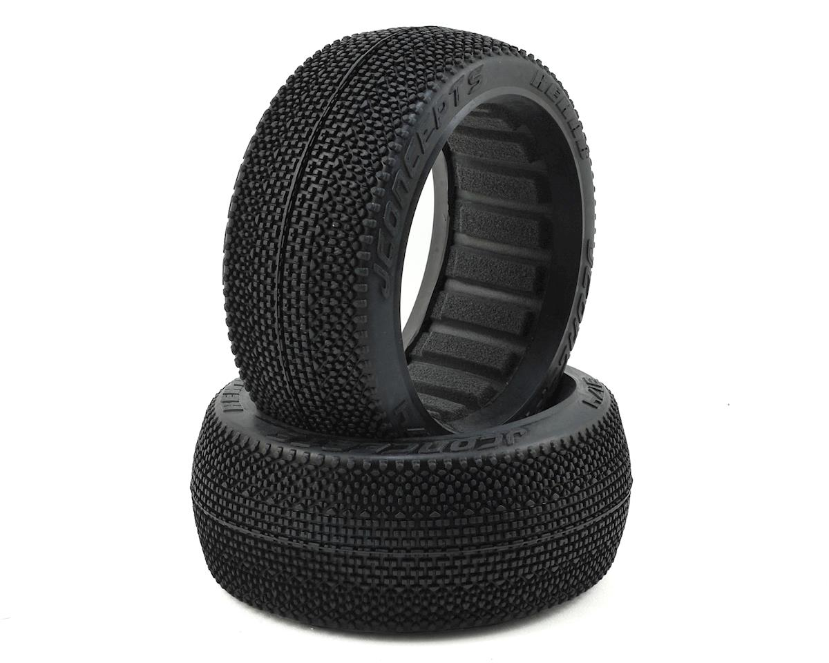 JConcepts Rehab 1/8th Buggy Tires (2) (Red2 - Long Wear)