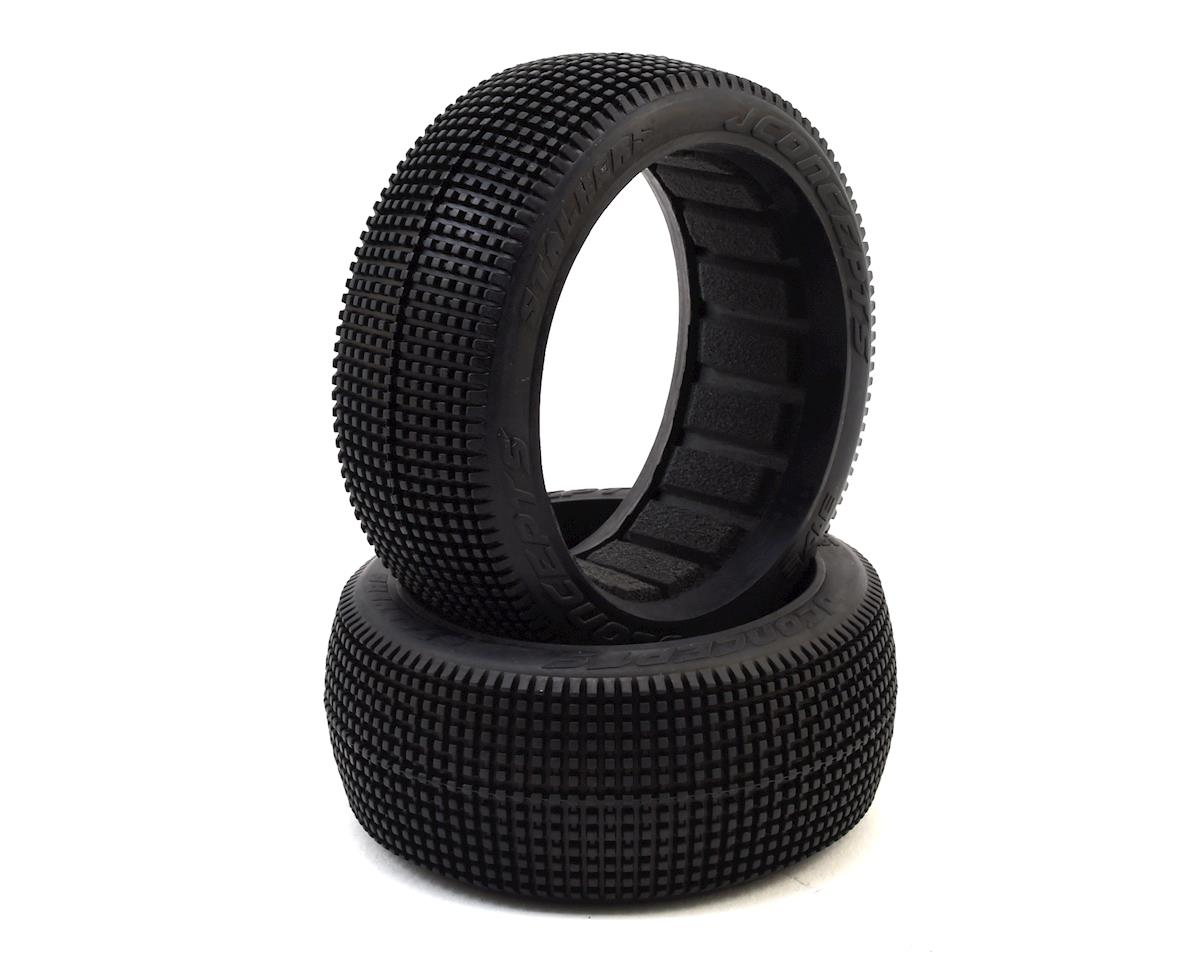 Stalkers 1/8 Buggy Tire (2) (Orange2 - Long Wear) by JConcepts