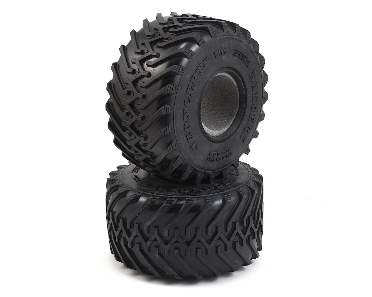 "JConcepts Rangers 2.2"" Monster Truck Tires (2) (Blue)"