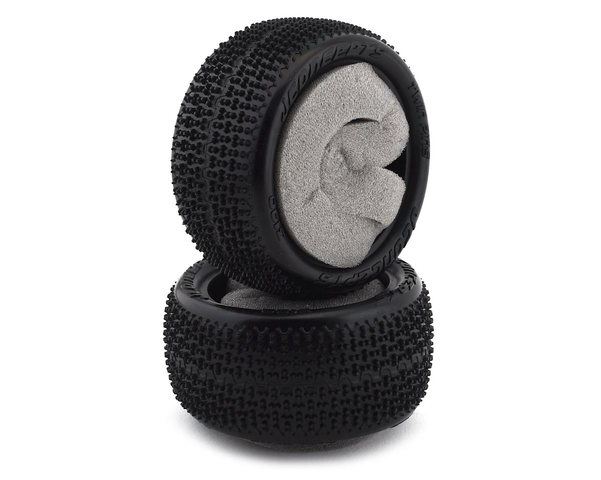 "JConcepts Twin Pins Carpet 2.2"" Rear Buggy Tires (2)"