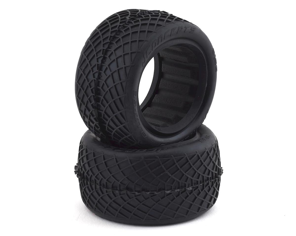 """JConcepts Ellipse 2.2"""" Rear 1/10 Buggy Tires (2) (Aqua)"""