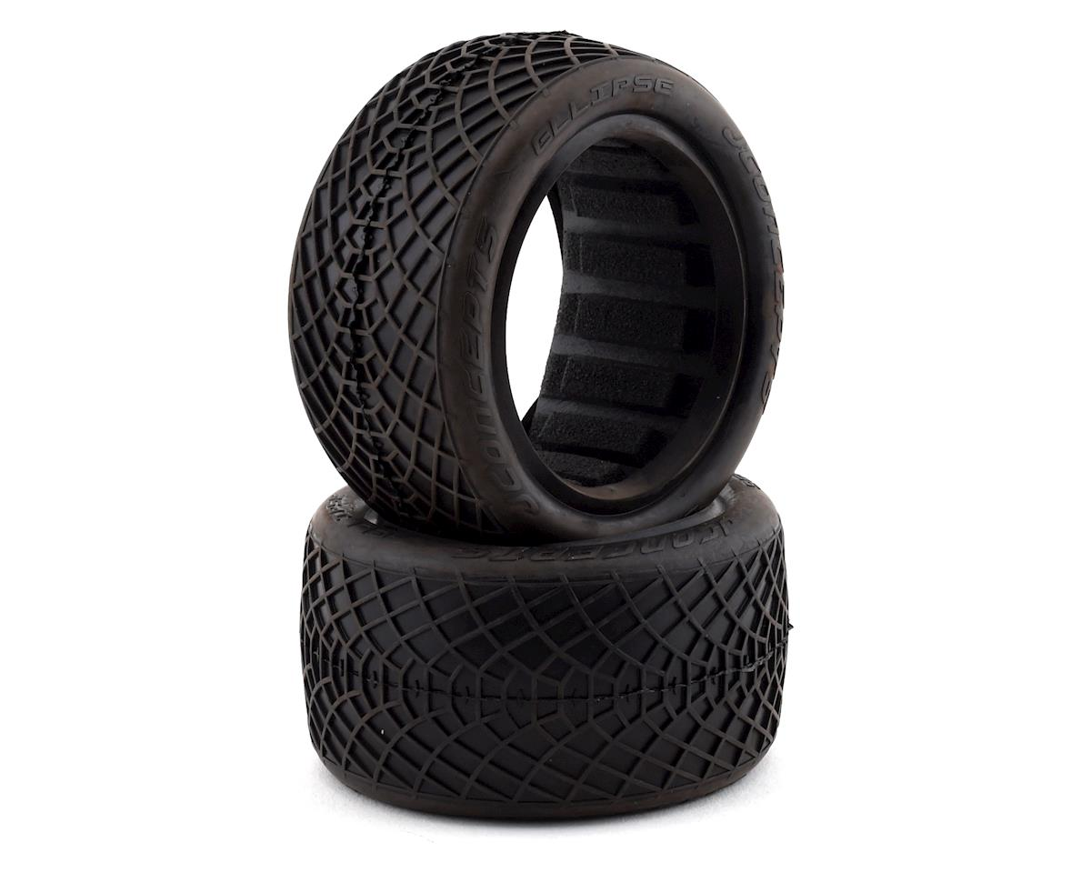 "JConcepts Ellipse 2.2"" Rear 1/10 Buggy Tires (2) (Black)"