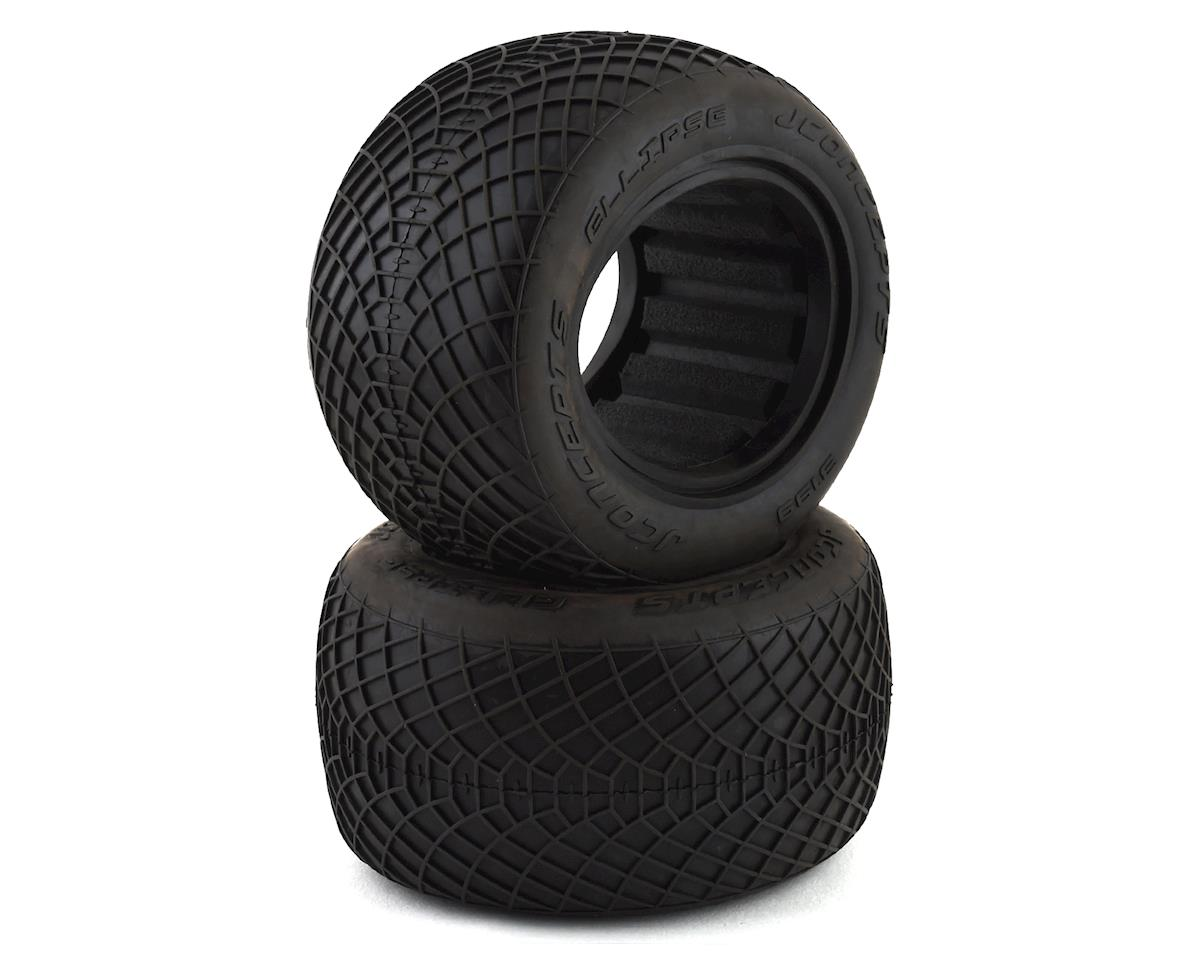 "JConcepts Ellipse 2.2"" 1/10 Stadium Truck Tires (2)"
