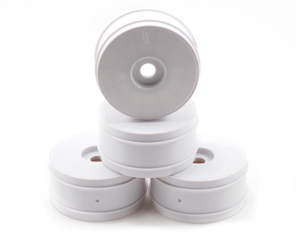 JConcepts Mono 1/8th Buggy Wheel Max-Ups (4) (White)