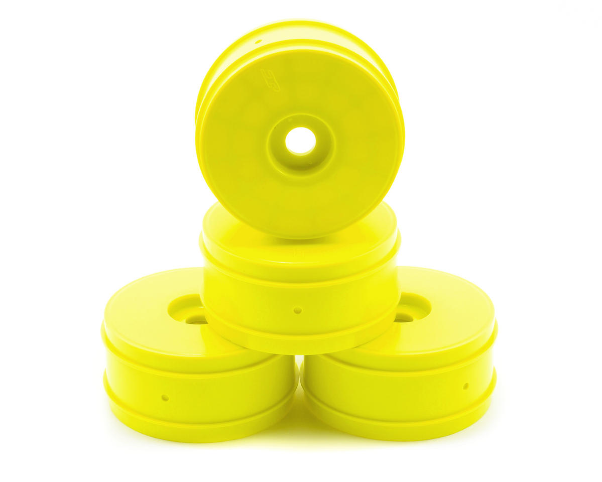 JConcepts Mono 1/8th Buggy Wheel Max-Ups (4) (Yellow)