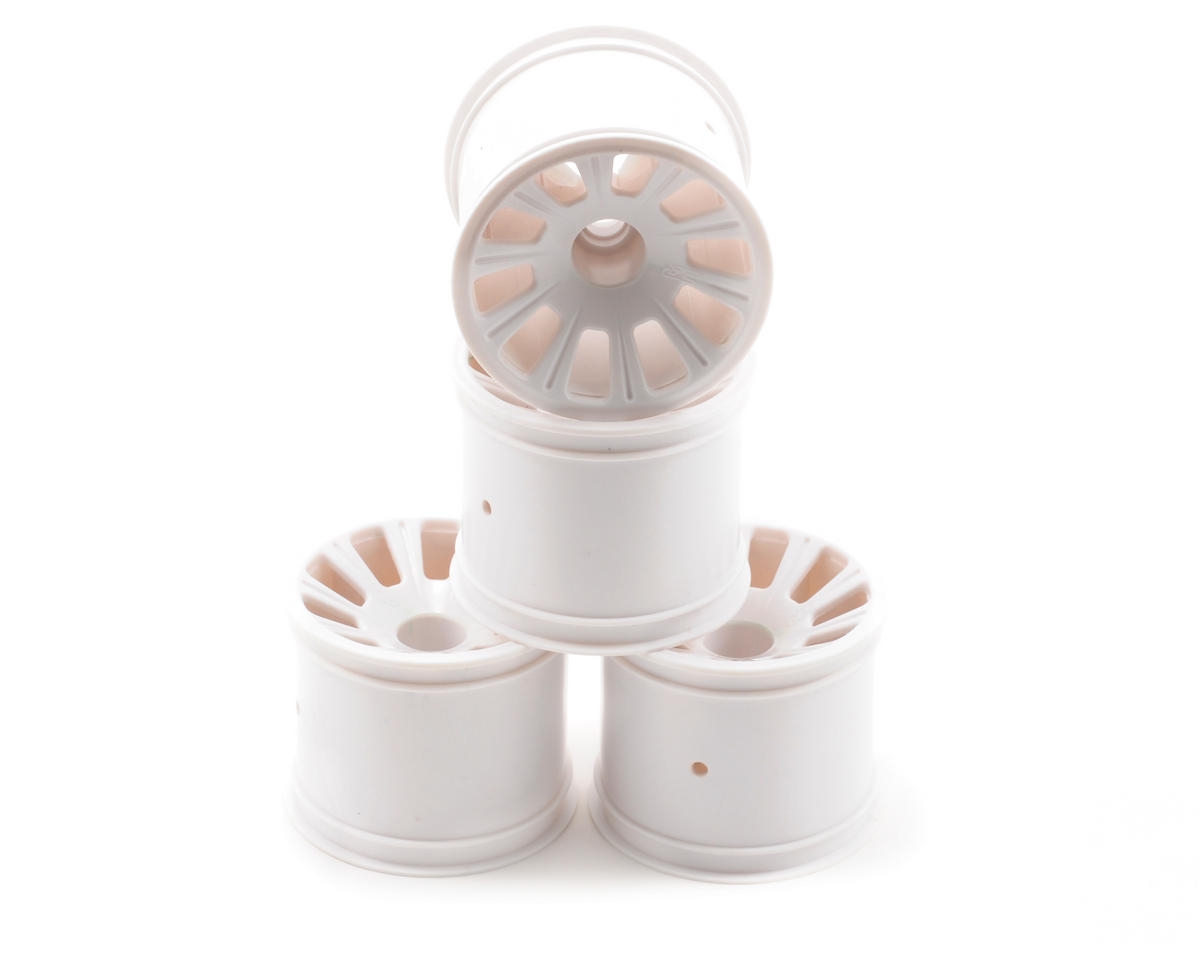 JConcepts Rulux RC10T4/GT2 Front Wheel (White) (4)