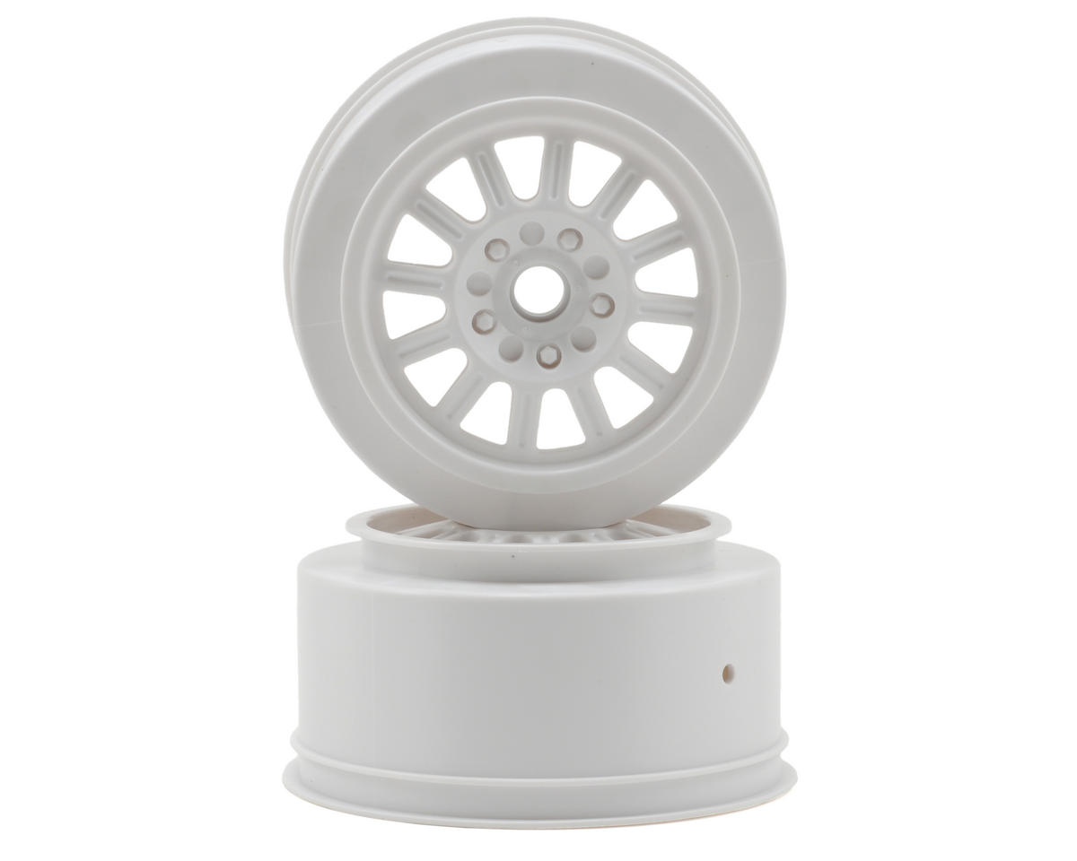 JConcepts Rulux Short Course Wheels (White) (2) (SC10 Front)