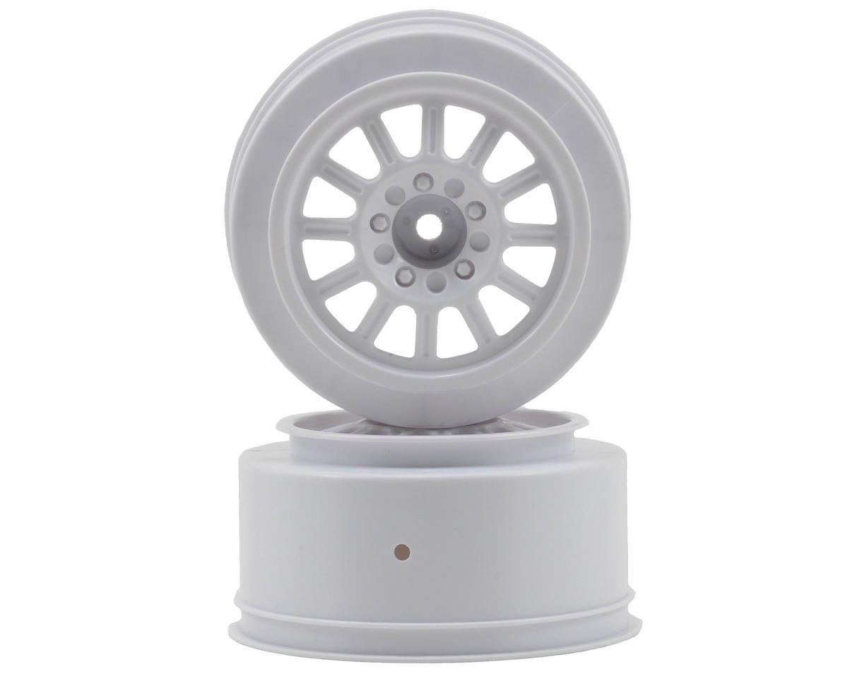 JConcepts 12mm Hex Rulux Short Course Wheels (White) (2) (Blitz)