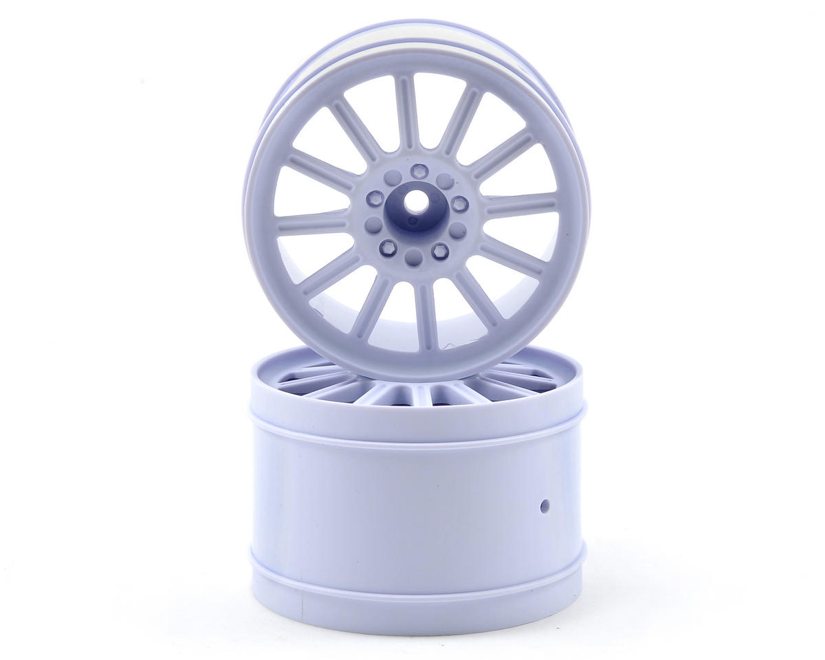 "JConcepts 12mm Hex Rulux 2.8"" Rear Wheel (2) (White)"