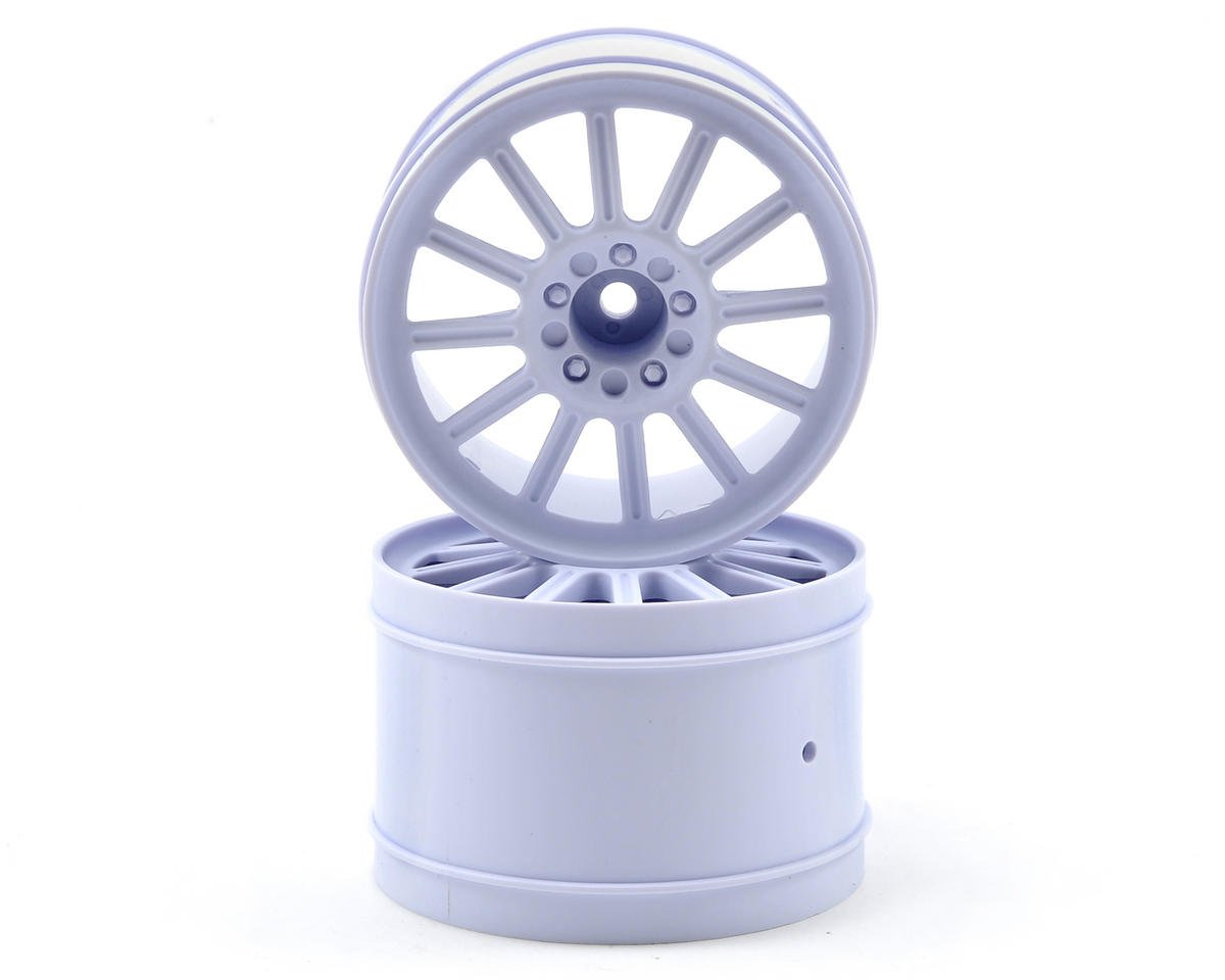 "12mm Hex Rulux 2.8"" Rear Wheel (2) (White) by JConcepts"