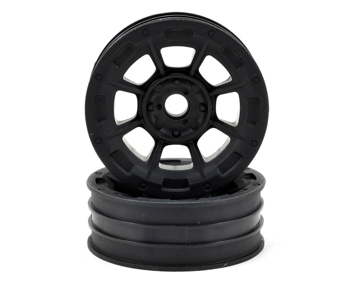"Hazard 1.9"" RC10 Front Wheel (Black) (2) by JConcepts"