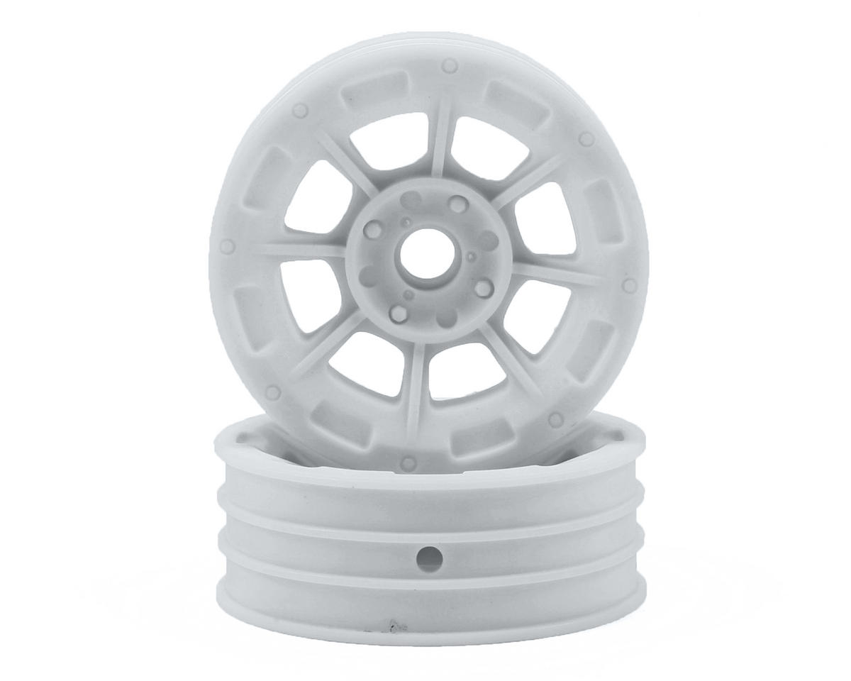 "JConcepts Hazard 1.9"" Team Associated RC10 Front Wheel (White) (2)"