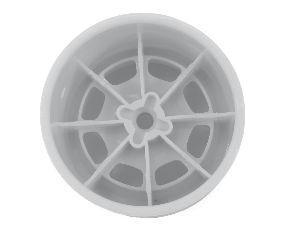 "JConcepts Hazard 1.7"" RC10 Rear Wheel (White) (2)"