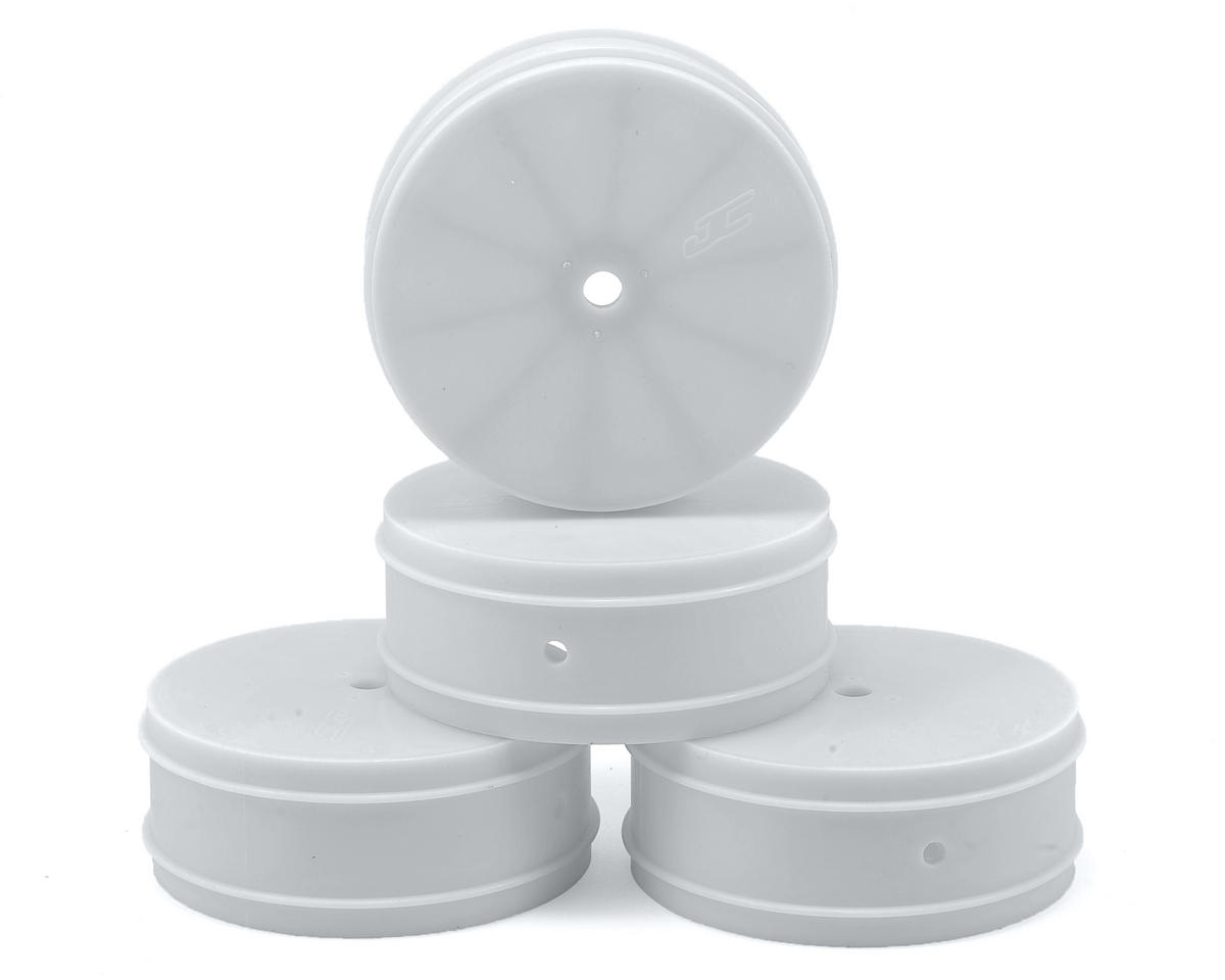 JConcepts 10mm Hex Bullet 60mm Front Wheels (4) (22/22 2.0) (White)