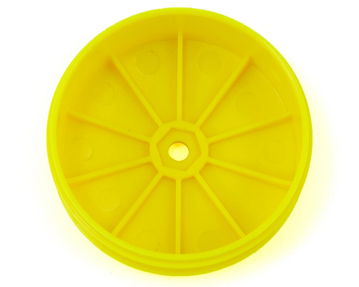 JConcepts 10mm Hex Bullet 60mm Front Wheels (4) (22/22 2.0)(Yellow)