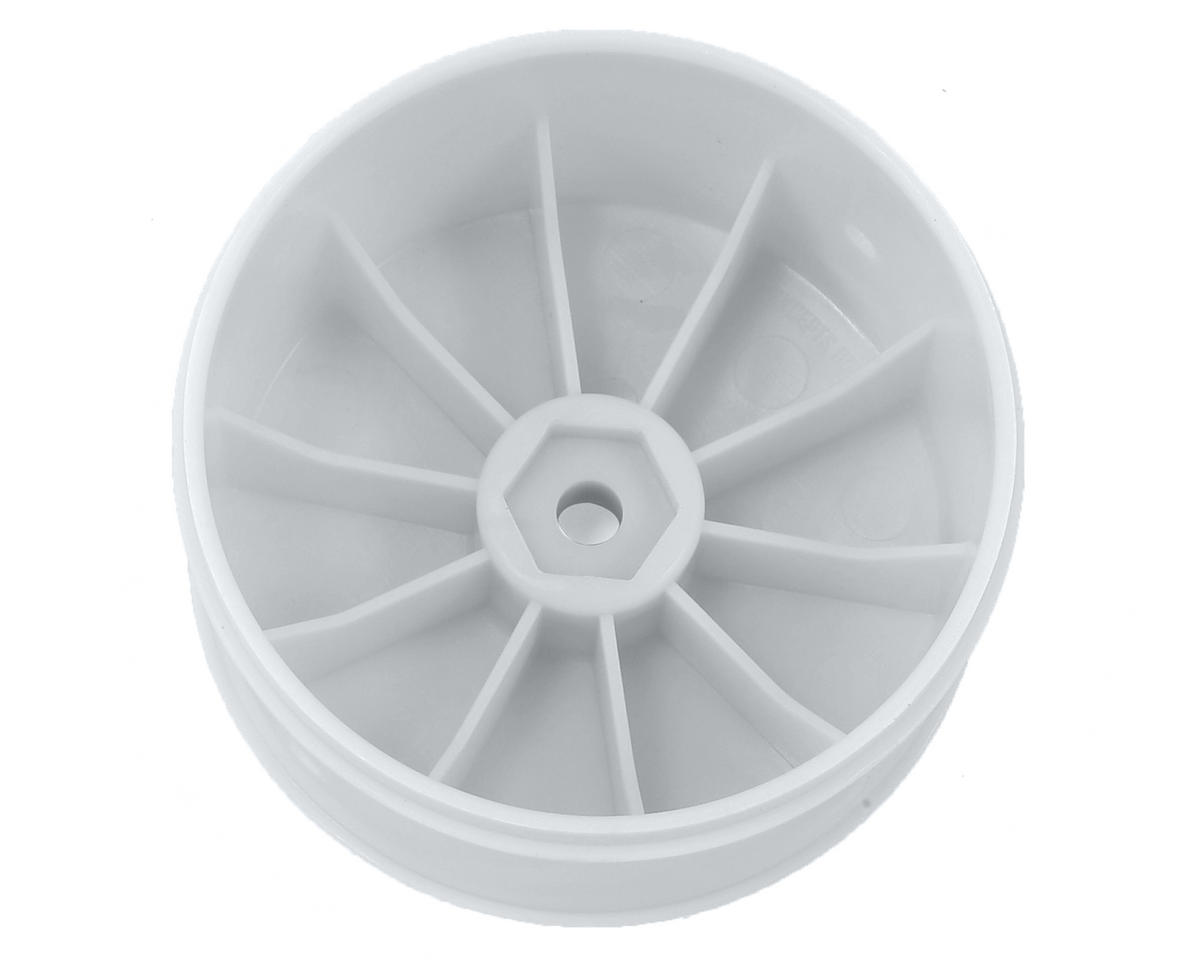 JConcepts 12mm Hex Bullet 60mm Rear Wheels (4) (22/22-4/B-MAX4) (White)